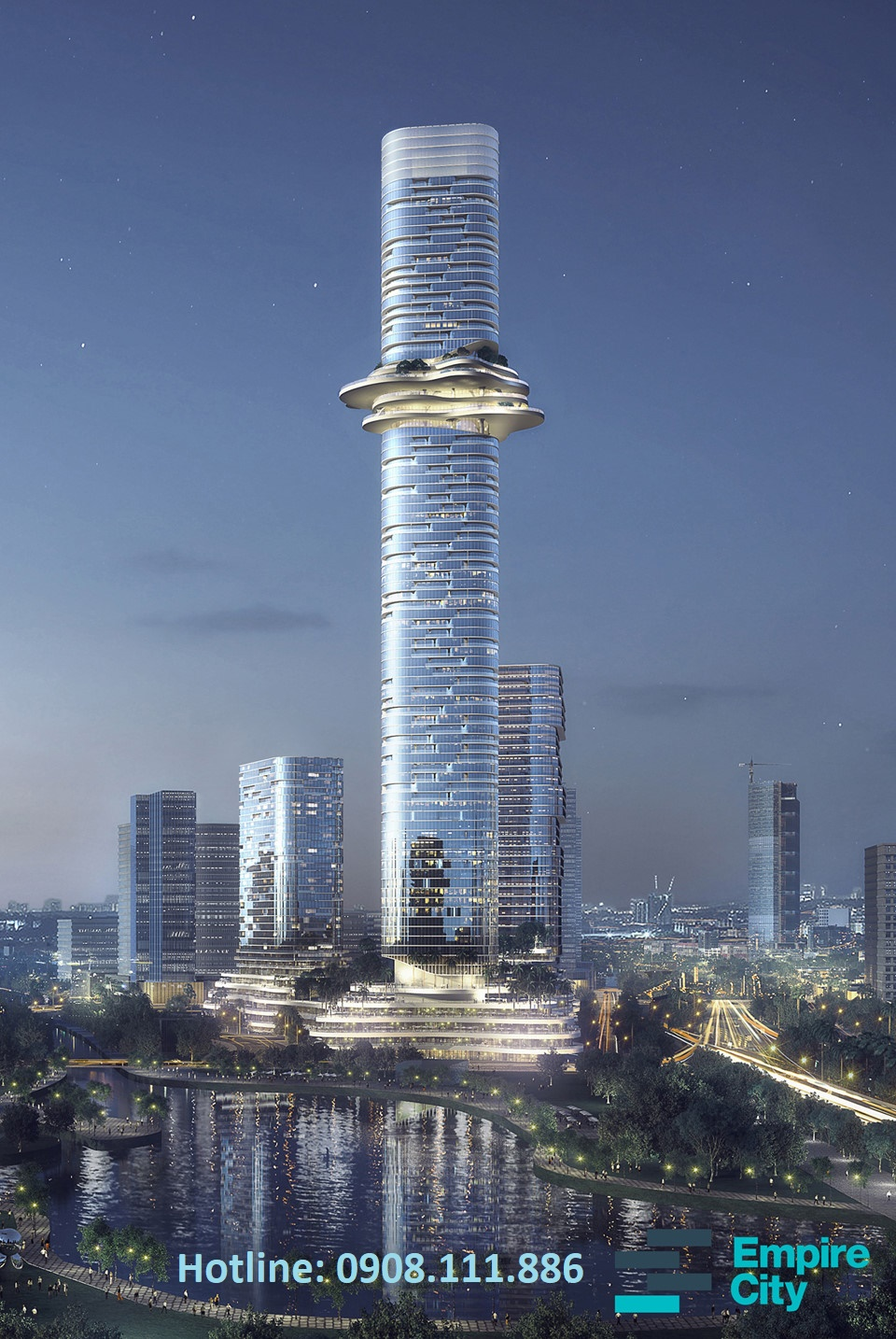 Tòa tháp Empire Tower 88 tầng, Empire City Thủ Thiêm