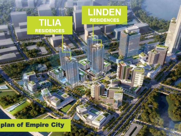 Vị trí tòa Tilia Residences, Tilia Residences (MU7) – Empire City