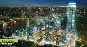 Bán căn hộ duplex Empire City Thủ Thiêm Quận 2, tháp Tilia Residences, view sông SG, Bitexco