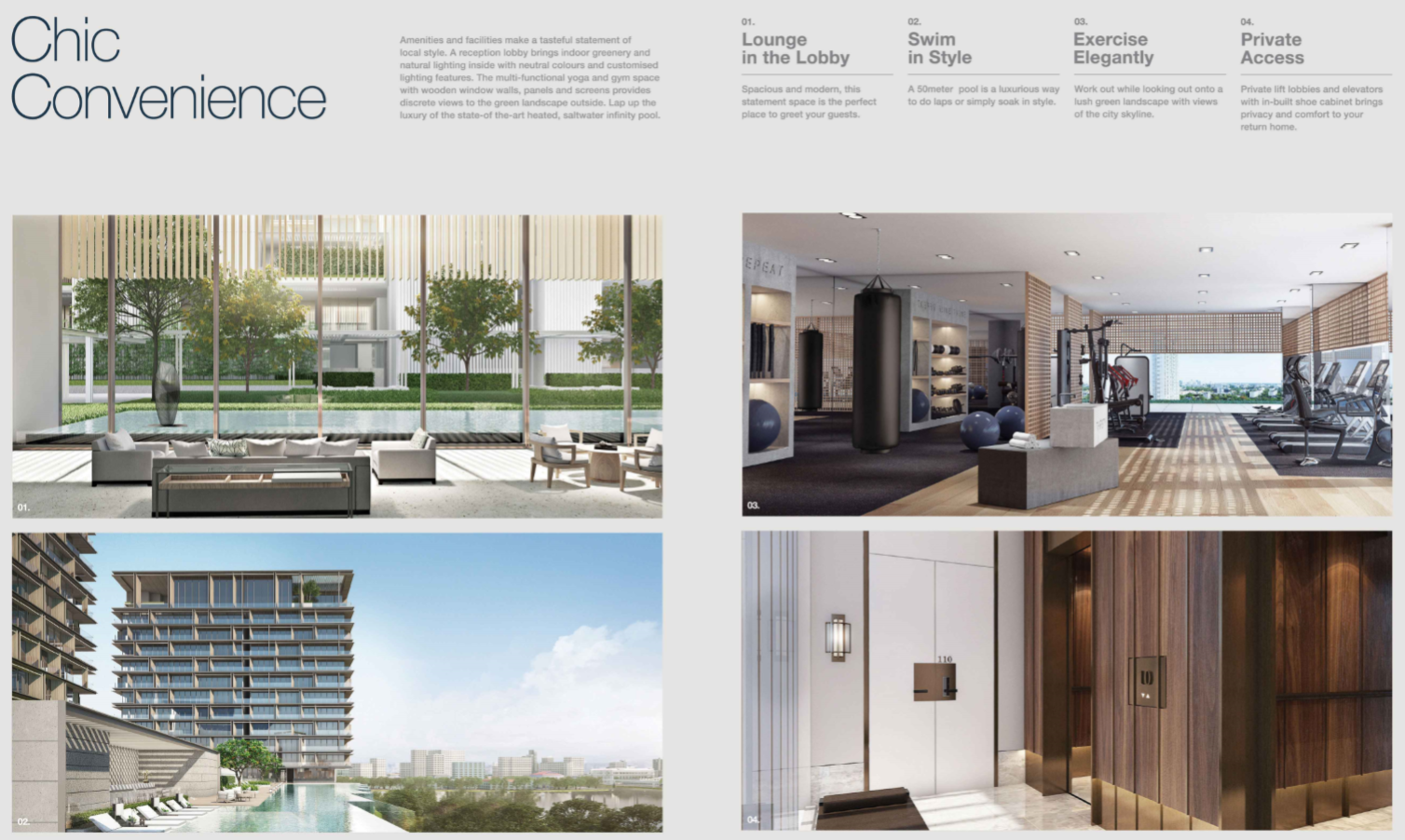 Tiện ích tòa Cove Residences - Empire City