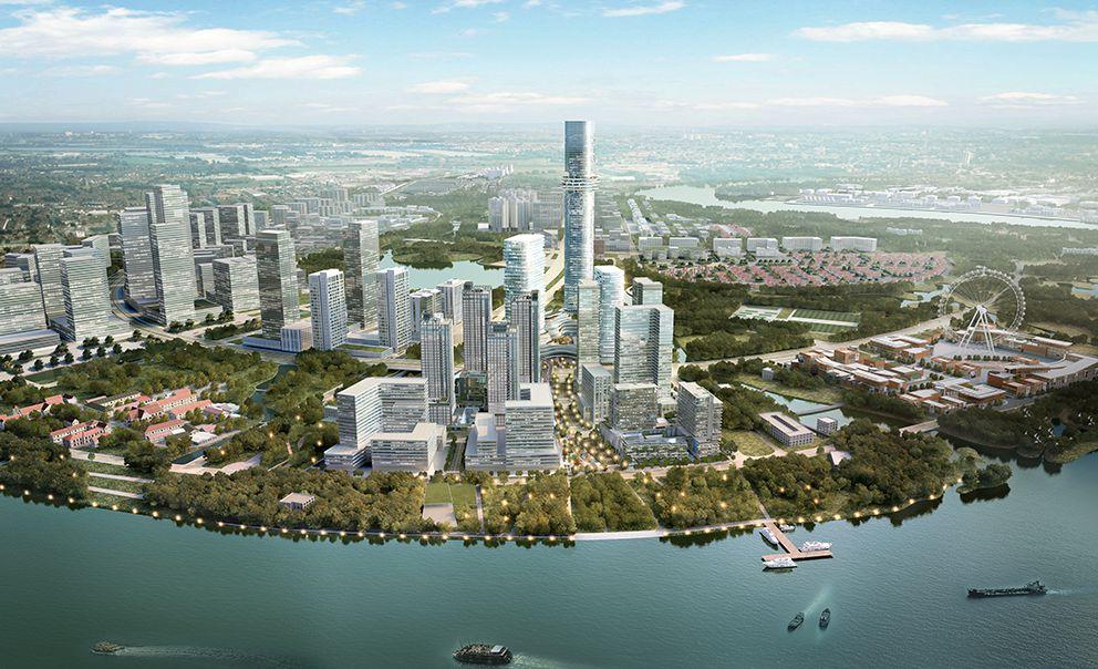 Tổng quan dự án khu phức hợp Tháp Quan Sát - Empire City (khu chức năng số 2B)