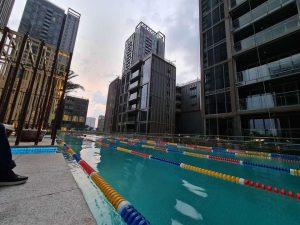 Bán căn hộ Empire City Thủ Thiêm 1PN – DT 64m2 view hồ bơi, nội khu đông nam